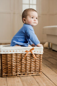 bebé cesta